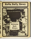 The Missouri Miner, August 27, 1981