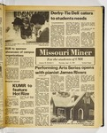 The Missouri Miner, September 10, 1981