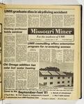 The Missouri Miner, September 17, 1981