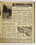 The Missouri Miner, October 01, 1981