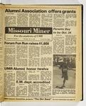 The Missouri Miner, October 08, 1981