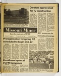 The Missouri Miner, October 15, 1981
