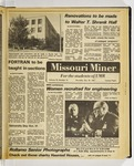 The Missouri Miner, October 29, 1981