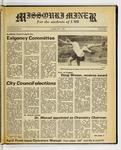 The Missouri Miner, April 01, 1982