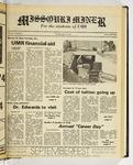 The Missouri Miner, September 16, 1982