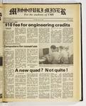 The Missouri Miner, January 27, 1983