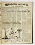 The Missouri Miner, March 29, 1984