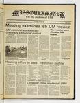 The Missouri Miner, April 26, 1984