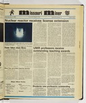 The Missouri Miner, November 06, 1985