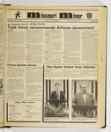 The Missouri Miner, November 20, 1985