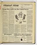 The Missouri Miner, January 29, 1986