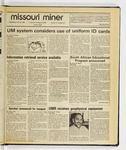 The Missouri Miner, February 26, 1986