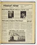 The Missouri Miner, March 05, 1986