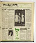 The Missouri Miner, March 12, 1986