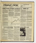 The Missouri Miner, March 26, 1986