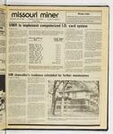 The Missouri Miner, April 09, 1986
