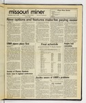 The Missouri Miner, April 16, 1986