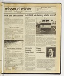 The Missouri Miner, April 29, 1986