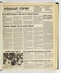 The Missouri Miner, September 09, 1986