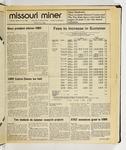The Missouri Miner, September 16, 1986