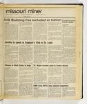 The Missouri Miner, September 23, 1986