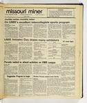 The Missouri Miner, September 30, 1986