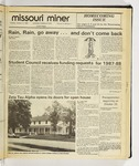 The Missouri Miner, October 14, 1986