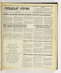 The Missouri Miner, November 05, 1986