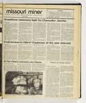 The Missouri Miner, November 12, 1986