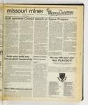 The Missouri Miner, December 03, 1986