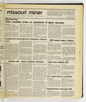 The Missouri Miner, January 21, 1987