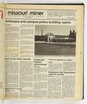 The Missouri Miner, January 28, 1987