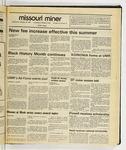 The Missouri Miner, February 18, 1987