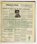 The Missouri Miner, March 11, 1987