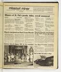 The Missouri Miner, March 18, 1987