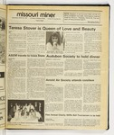 The Missouri Miner, March 25, 1987