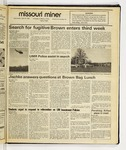 The Missouri Miner, April 15, 1987