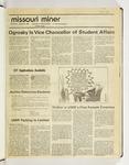 The Missouri Miner, August 26, 1987