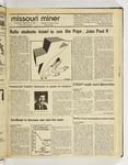 The Missouri Miner, September 16, 1987