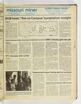 The Missouri Miner, September 30, 1987