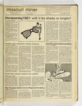 The Missouri Miner, October 07, 1987