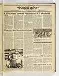 The Missouri Miner, October 14, 1987