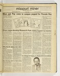 The Missouri Miner, October 21, 1987