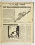 The Missouri Miner, November 11, 1987