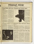 The Missouri Miner, November 18, 1987