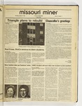 The Missouri Miner, January 27, 1988