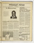 The Missouri Miner, February 17, 1988