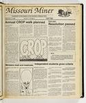 The Missouri Miner, September 14, 1988