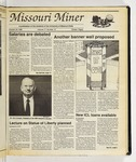 The Missouri Miner, October 26, 1988
