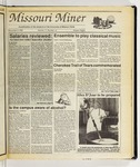 The Missouri Miner, November 09, 1988